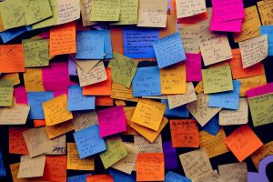 post it notes to self